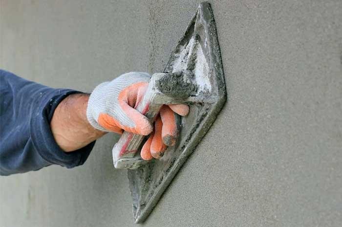 Расценка штукатурка поверхности цементным раствором керамзитобетон или газоблок для бани