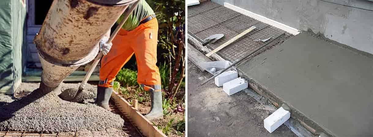 Покрытие бетоном расценка заказать бетон томск