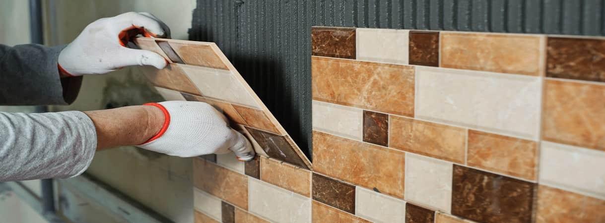 Керамическими цветными плитками типа кабанчик на цементном растворе купить бетон в днр с доставкой цена